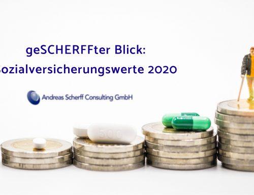 Sozialversicherungswerte 2020