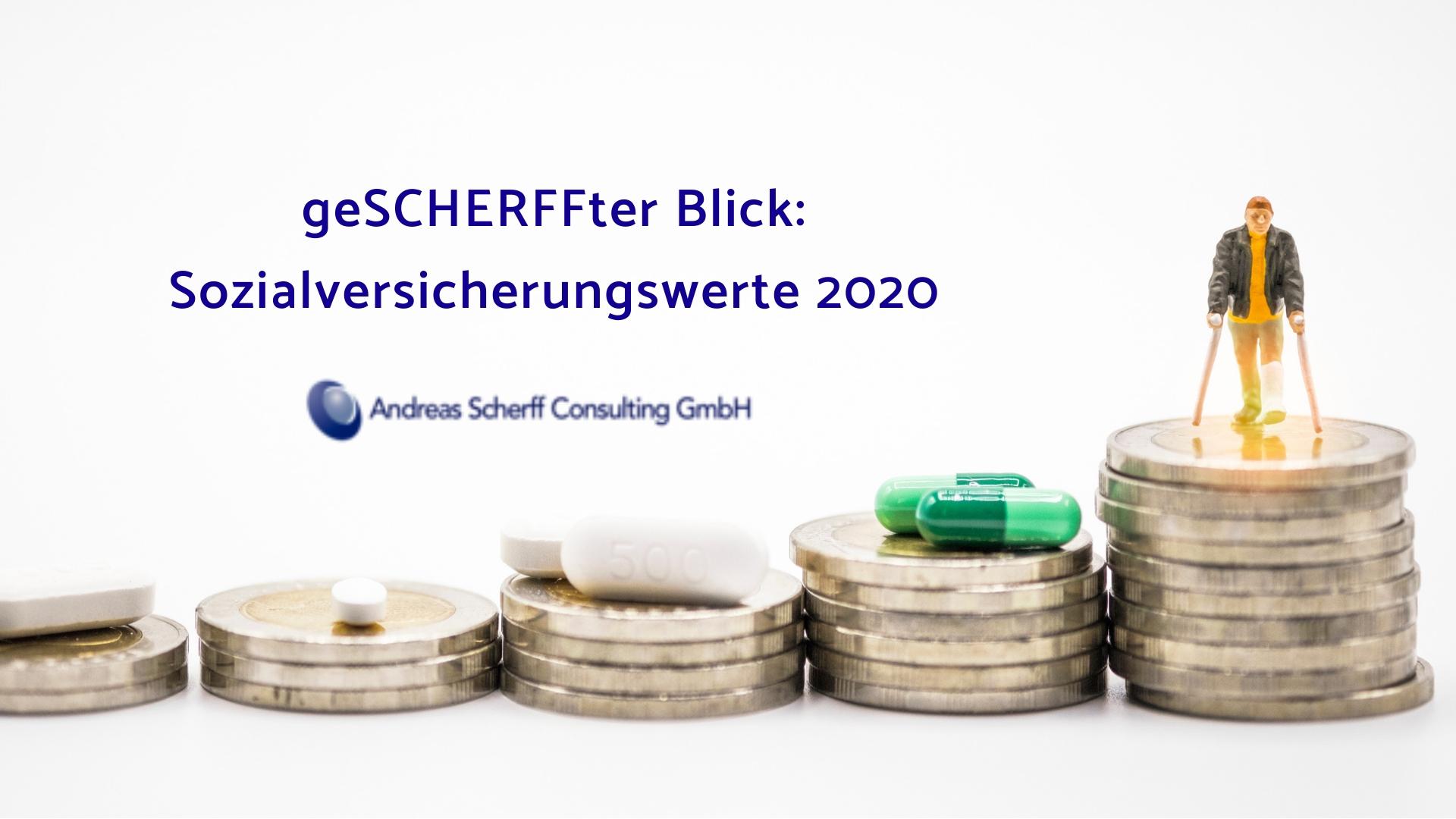 geSChERFFter Blick_Sozialversicherungswerte 2020