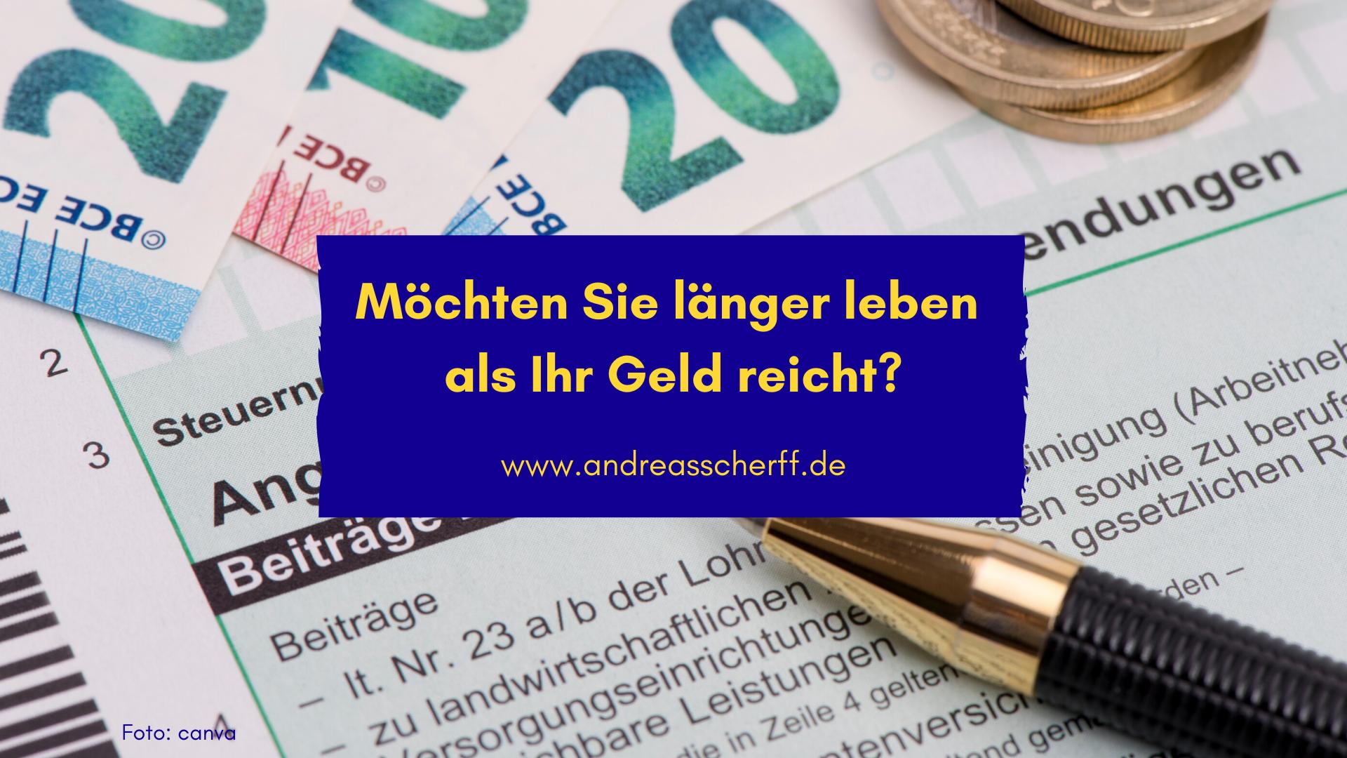 Rente Geld 01.2020 Andreas Scherff Consulting GmbH